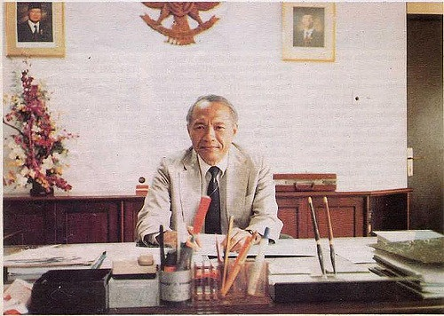 Prof.Samaun Samadikun Tampil Di Google Doodle
