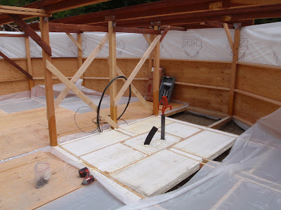 Our Year In A Yurt Progress