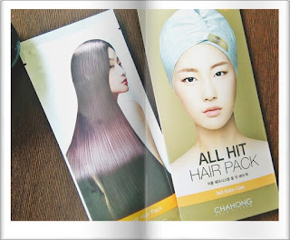 Pielęgnacja włosów po koreańsku-  [CHACHONG] All hit hair pack  - recenzja