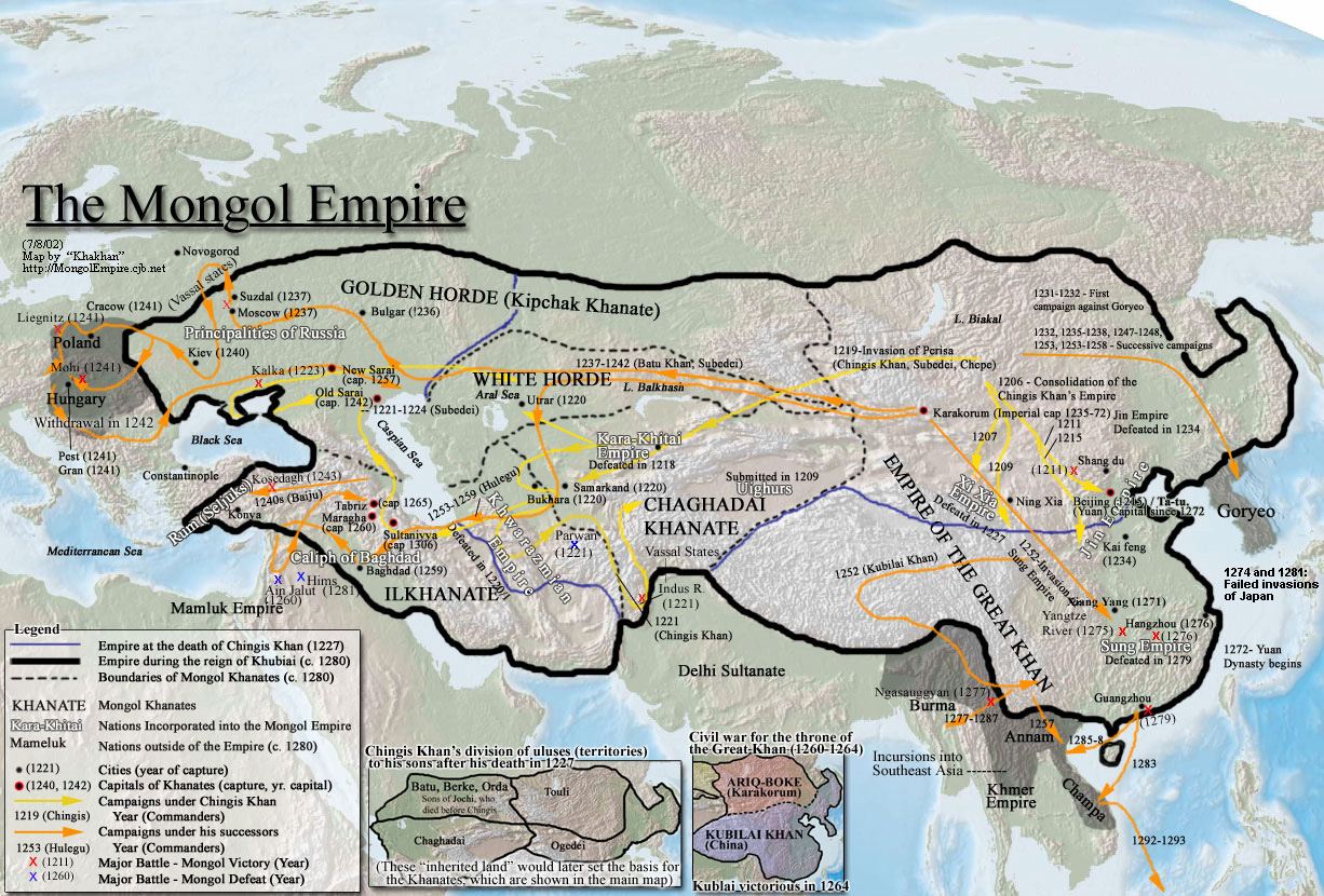 history of world mongol history tuesday 12 2011
