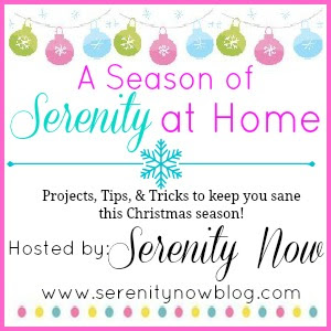 A Season of Serenity at Home, Christmas Inspiration series from Serenity Now