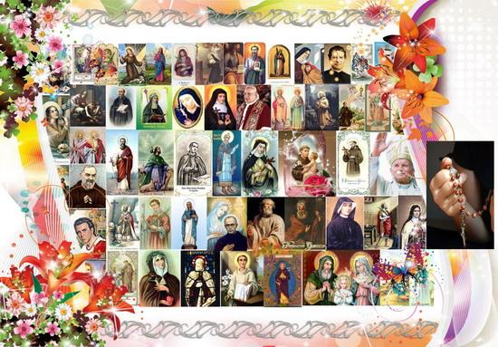 ✿❀☆ Santo Rosario continuo, di 24 ore, 1º Novembre, Solennità di Tutti i Santi