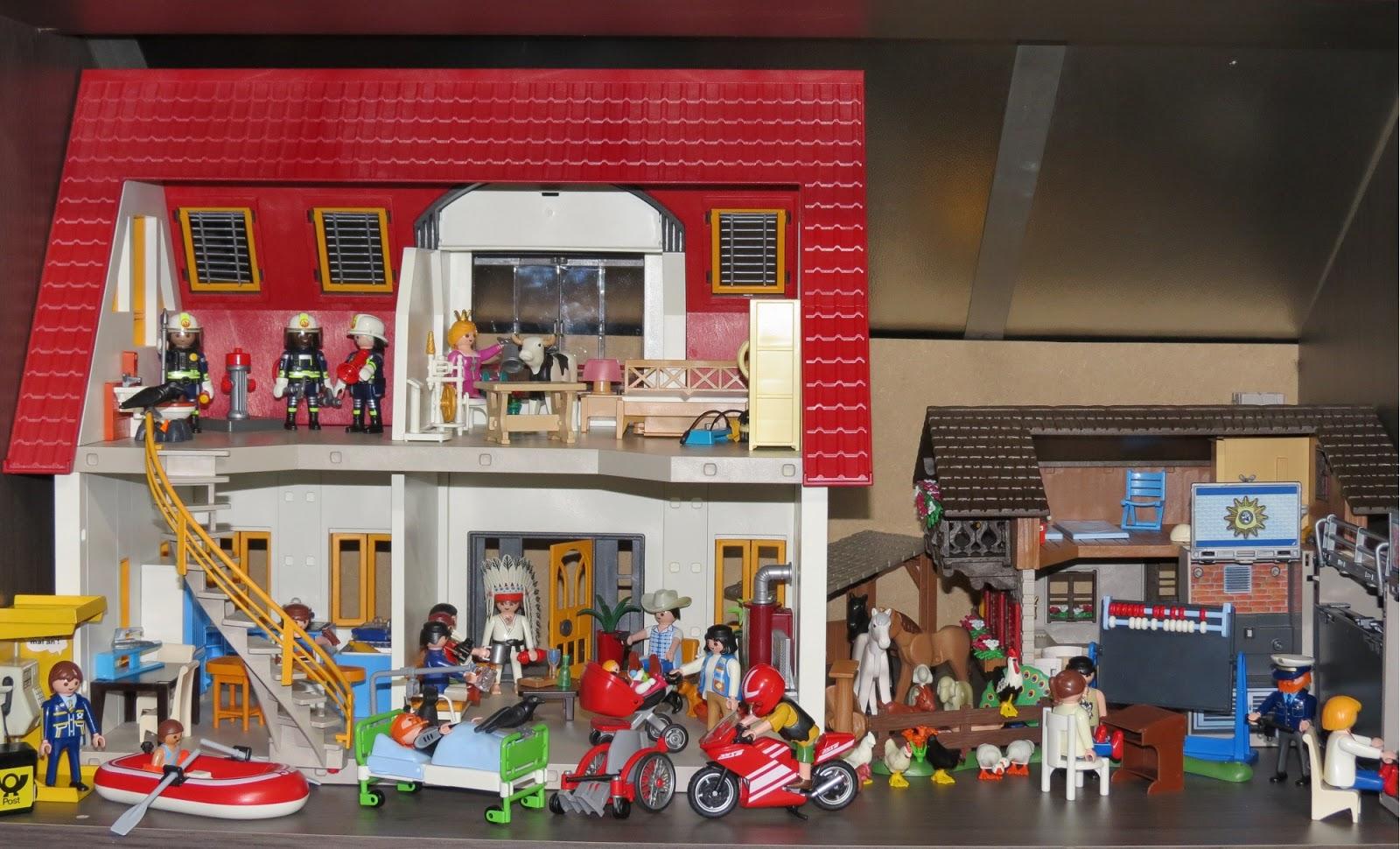 Priepraat de wereld in playmobil - Doos huis wereld ...
