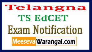 Telangna TS EdCET Exam Notification 2017