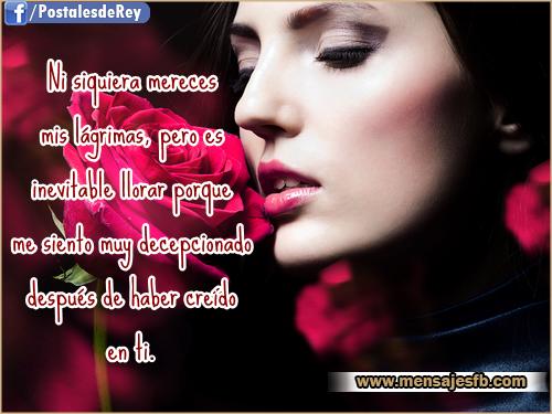 Frases de sufrimiento de amor - Mensajes para Amor ...