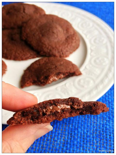 Biscotti cuor di Nocciolata ( solo 3 ingredienti)
