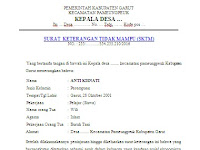 Contoh Surat Keterangan Siswa Tidak Mampu (SKTM) Update 2016