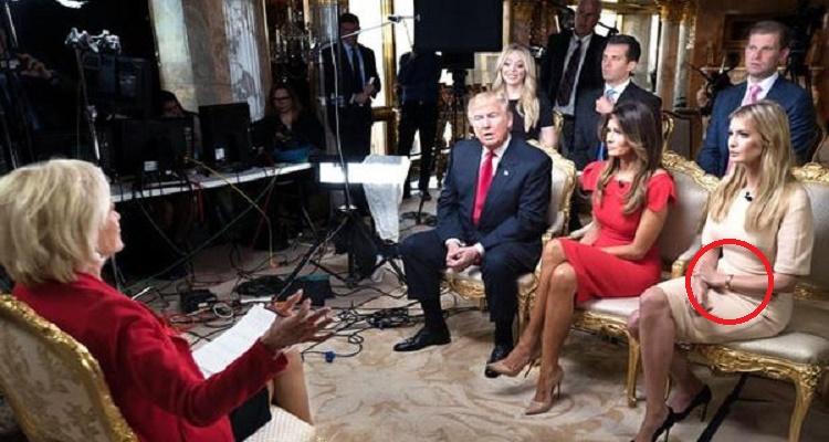 موقف محرج لإيفانا ترامب في أول لقاء إعلامي مع العائلة الحاكمة