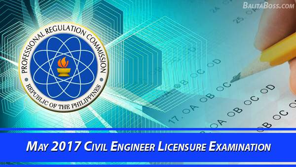 Civil Engineer May 2017 Board Exam
