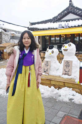 Revisit Jeonju - Omokdae Pavilion (오목대) in Hanbok | www.meheartseoul.blogspot.com