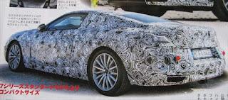 BMW 新型8シリーズ 2018年に復活 リア画像