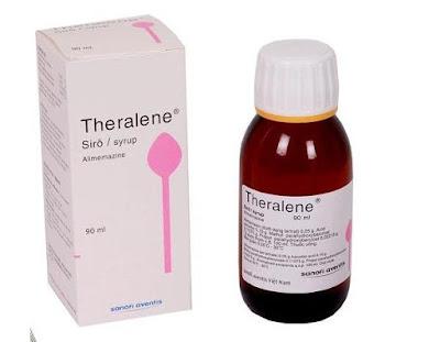 Theralen bị giới hạn chỉ định theo thông báo của cơ quan quản lý dược phẩm Pháp