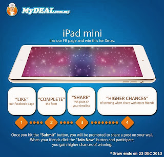 medeal - Lucky Draw - iPad giveaway
