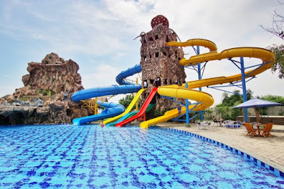 Waterboom Cirebon Waterland Ade Irma Suryani