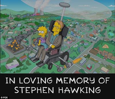 Salah satu adegan Lisa diselamatkan oleh 'Hawking'