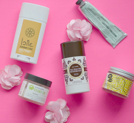 5 Natural Deodorant Options | Clean Beauty