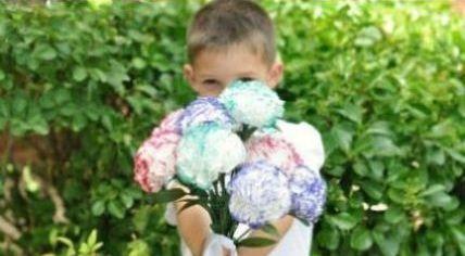 Cara Membuat Kerajinan Tangan Dari Kertas | Bunga Tissue Cantik