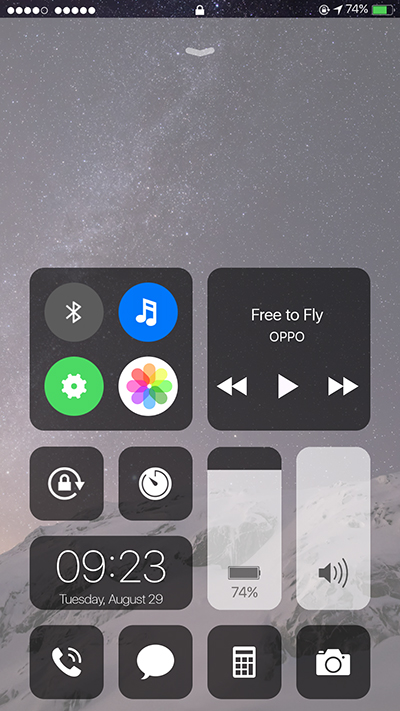 Oppo F3 | F3 Plus Theme IOS 11 Theme