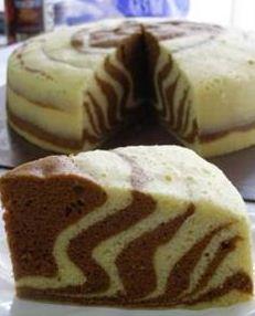 Resep Marmer Cake Lembut Dan Berminyak : resep, marmer, lembut, berminyak, Resep, Aneka, Marmer, Kukus