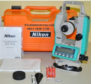 Harga Terbaru Theodolite Nikon NE 100 101 Di Jakarta Tangerang Dapat Training Gratis