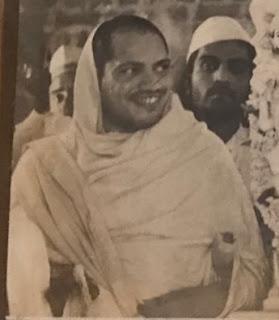Jain Sripujya Sri Jin Vijayendra Suri at Azimganj Kothari family