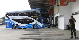 Mor Chit bus terminal in Bangkok