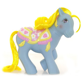 My Little Pony Brilliant Blossoms Year Seven Merry Go Round Ponies G1 Pony