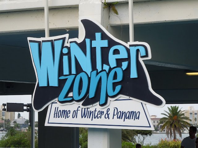 Winter Zone sign