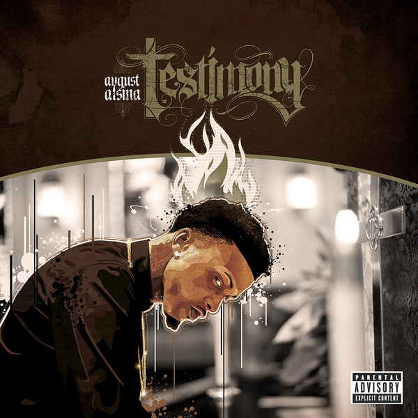 August Alsina - Testimony (Deluxe Version)   Cover