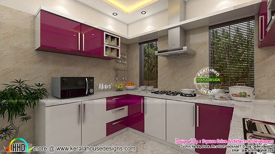 Kitchen home interior
