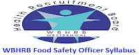WBHRB FSO Syllabus 2017