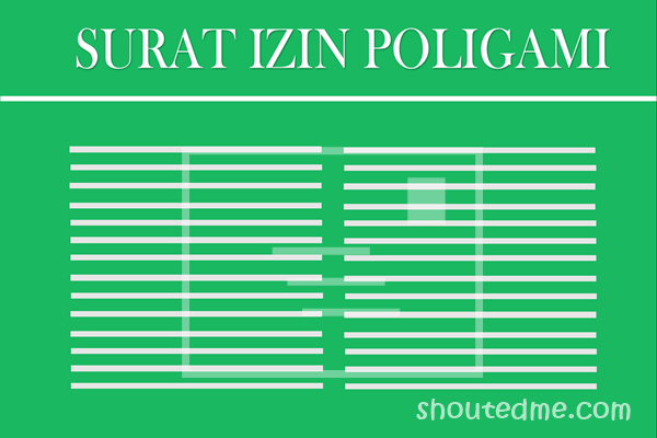 contoh surat izin poligami