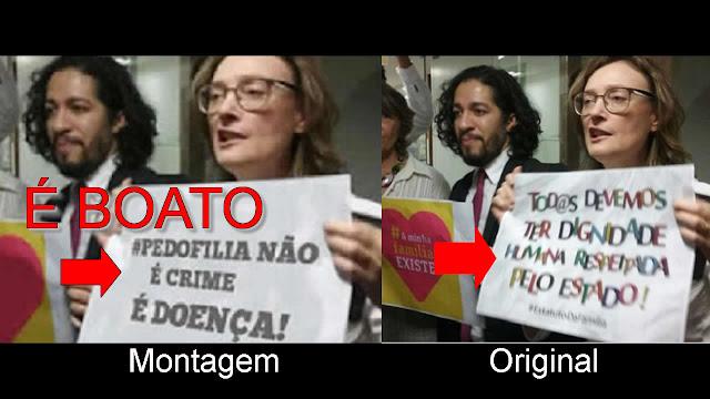 BOATO: Jean Wyllys e Maria do Rosário se juntam para descriminalizar a pedofilia.
