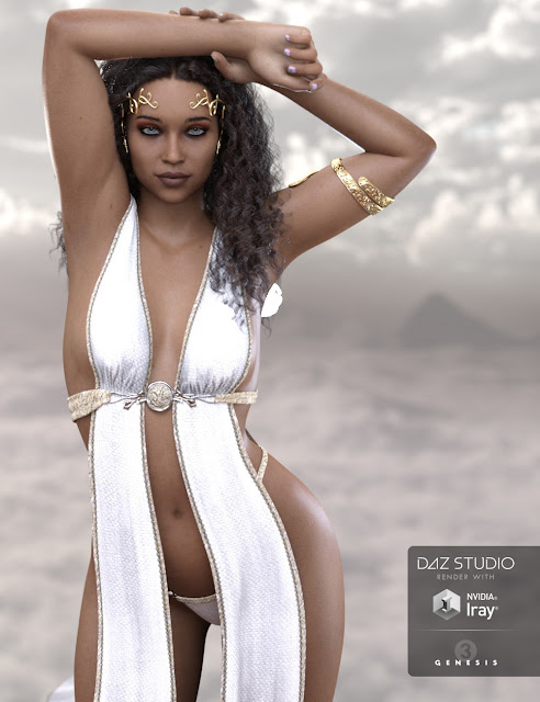 Makeda for Genesis 3 Female