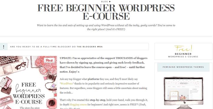 Bog stylist WP free course