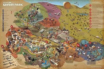 San Diego Zoo Safari Park Map ShowMe Elephants: San Diego Zoo Safari Park Map San Diego Zoo Safari Park Map