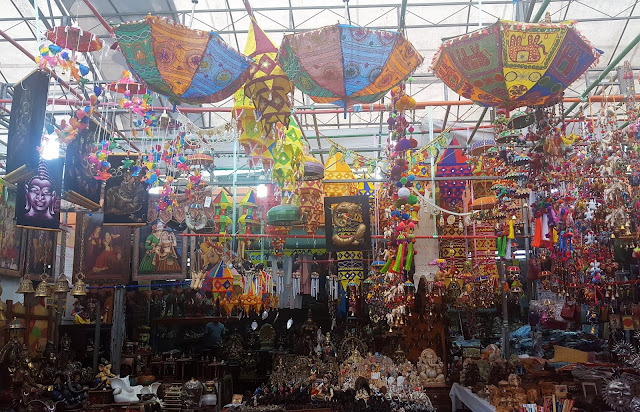 colorful Little India Market