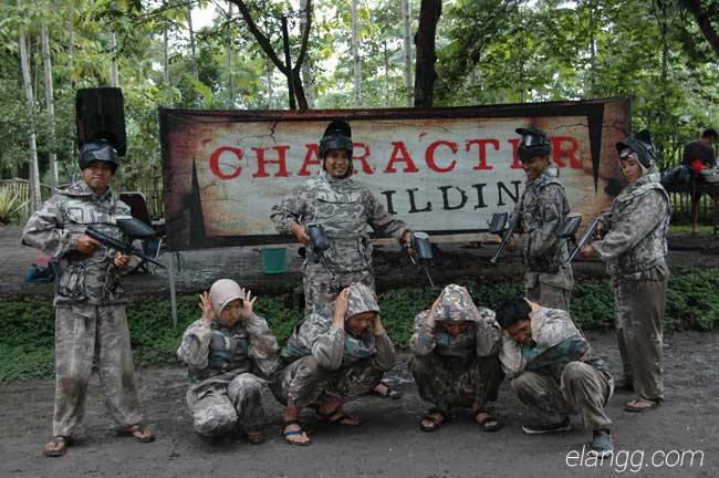 sahabat air paintball, wisata batu malang