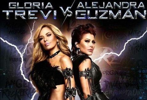 Alejandra Guzman y Gloria Trevi Mexico