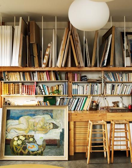 La maison boheme art storage ideas - Supplies needed to paint a room ...