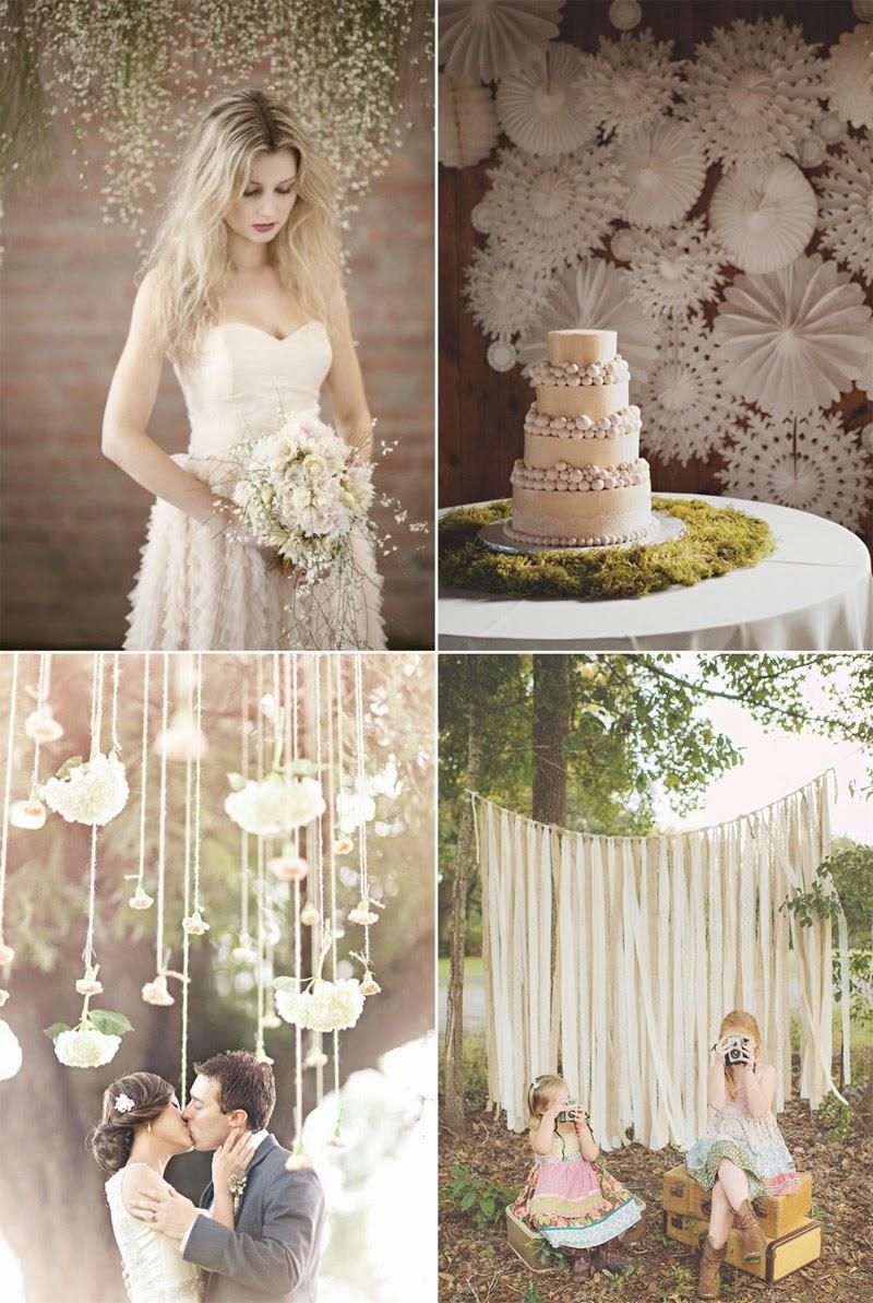 Todo un mundo de papel decoraci n bodas ideas con papel - Bodas sencillas y romanticas ...