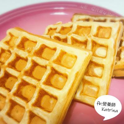 <下午茶食乜好? > (一) 窩夫 Waffle