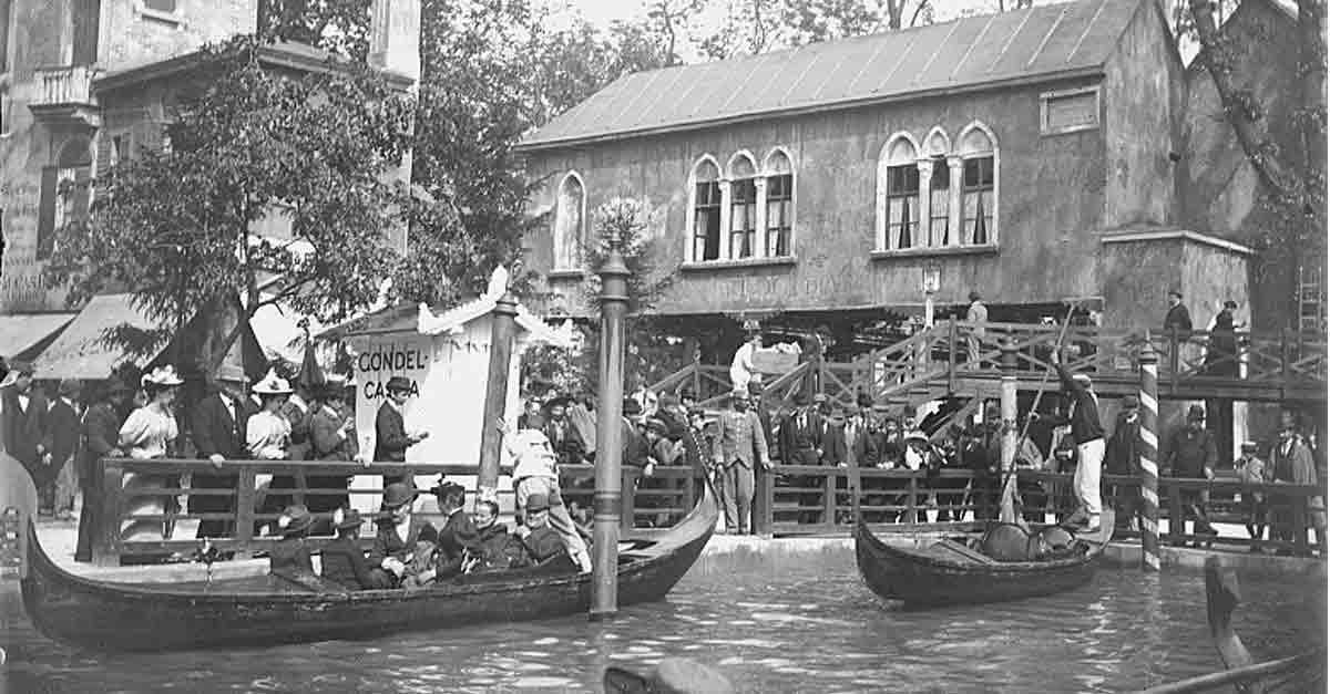 Imbarco delle gondole a Vienna