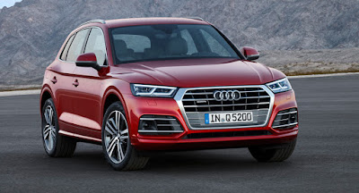 New Audi Q5 SUV Red Hd Image
