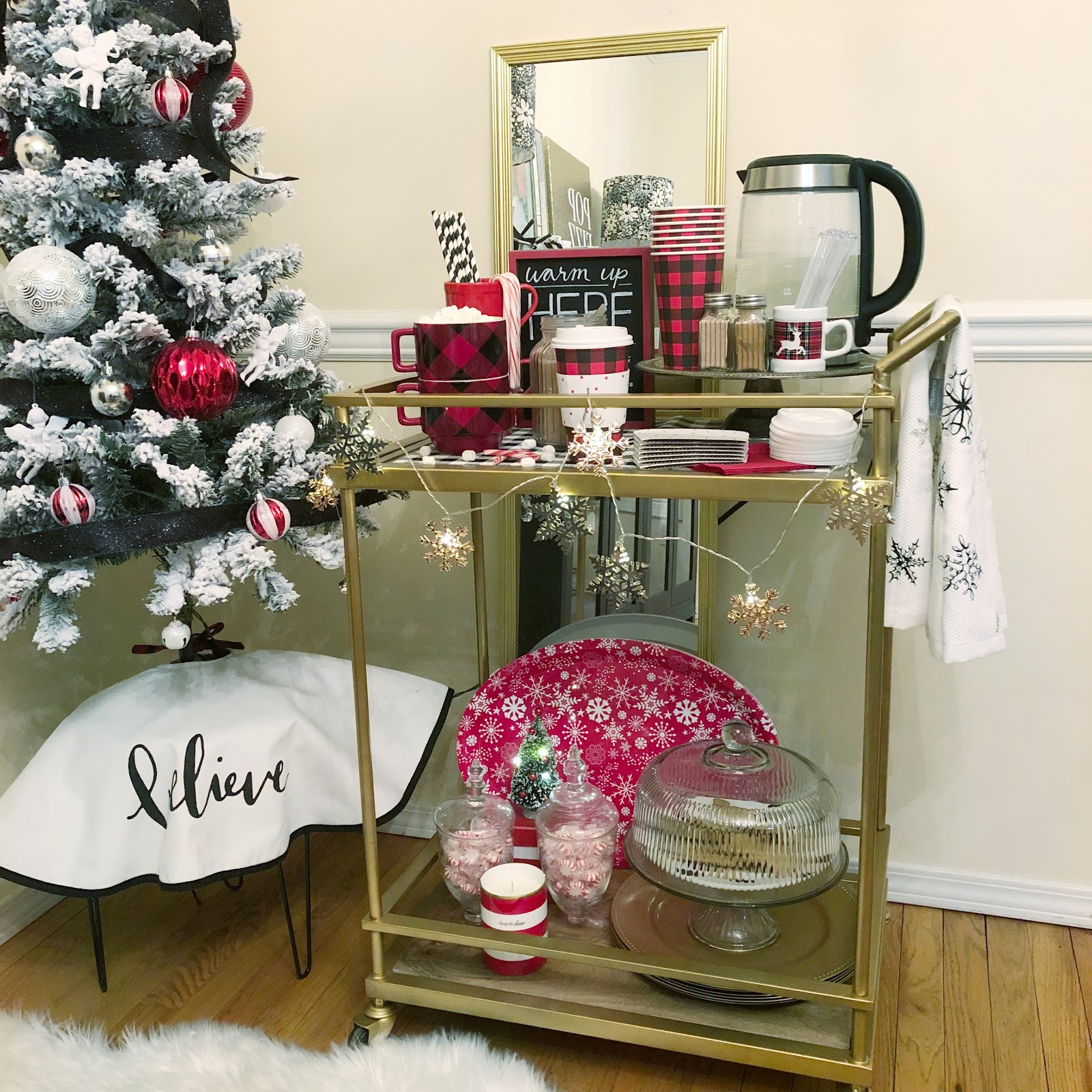 5 things you need on your hot cocoa bar cart