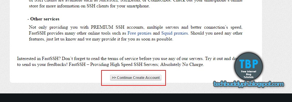 How to Create SSH Account in Fastssh com for HTTP Injector