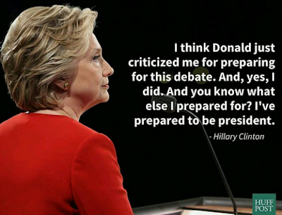 Hilary Clinton Quote of the day!