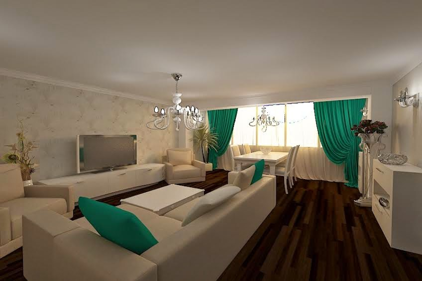 Design interior apartament modern Constanta - Design interior living case moderne