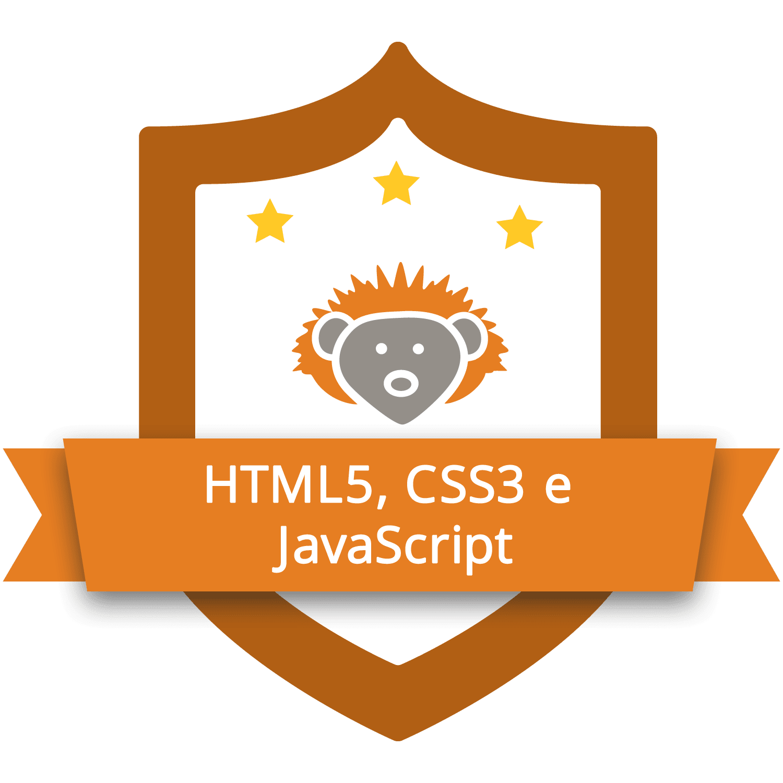 Curso Completo do Desenvolvedor Web HTML5, CSS3, Javascript e PHP brasao