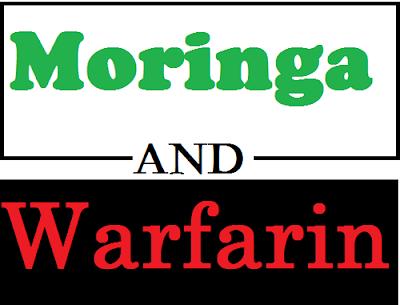 Moringa and Warfarin